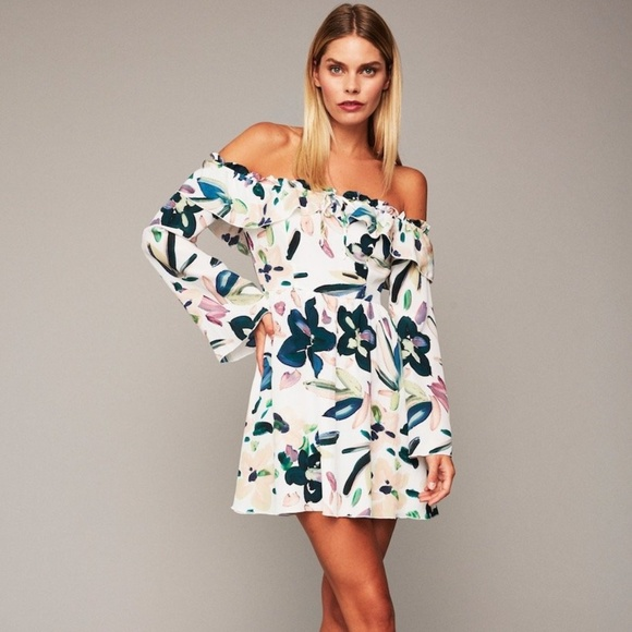 37feae0d5059 Stone Cold Fox SCF Rexford Dress White Hopper 0